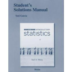Student Solutions Manual for Introductory Statistics - Paperback