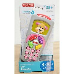 Fisher Price Laugh And Learn Sis Remote Toy with Light Up Screen 35 Songs Sounds