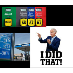 10 pack Biden I Did That Funny Political Stickers Decals Made In the USA