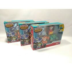 (Lot of 3) Playskool Heroes Transformers Rescue Bots Academy Academy Rescue Team