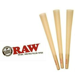 RAW Cones Classic 1 1/4Size |20 Pack| Natural Pre Rolled Rolling Paper W/TIP