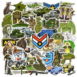 50pcs Stickers Lot Army Military Soldier Vinyl Decals