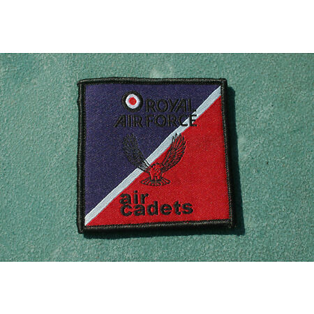 img-Royal Air Force - Air Cadets - TRF Flash Vel-cro Patch - No334a