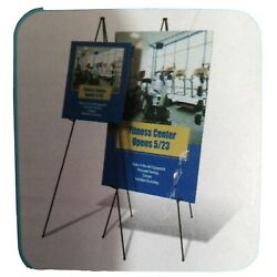 QUARTET INSTANT DISPLAY EASEL COMPACT SIZE FOR BRIEFCASE 63'' TALL presentation