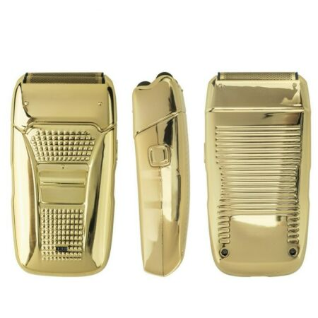 img-USB Rechargeable Electric Men's Shaver Reciprocating Double-Knife Beard Razor