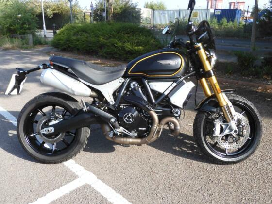 Ducati Scrambler 1100 sport 2019 model, only 994 miles from new, HPI clear