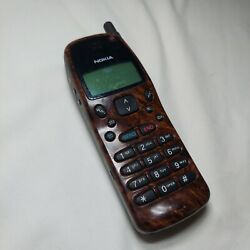Vintage Nokia 232 Brown Cell Phone w/ Battery / Untested / AS-IS