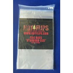 PACK OF 50 GRADED COMIC SLEEVES / BAGS Resealable 50 PER PACK ~ CGC SIZE