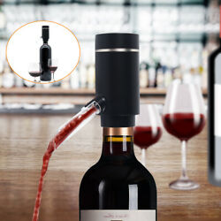 Electric Wine Aerator Pourer Automatic Smart Decanter Dispenser USB Charge NEW