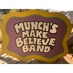 Chuck E. Cheese CEC 2-Stage Munch's Make Believe Band Set Pieces MMBB Lot