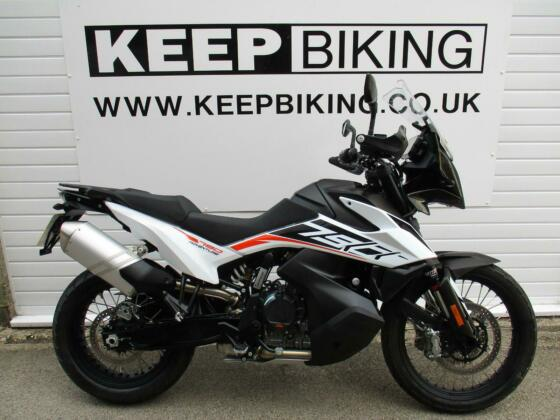 2020 KTM 790 ADVENTURE ABS  1354 MILES. FULL SERVICE HISTORY. 1 OWNER.