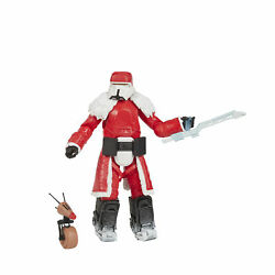 Star Wars The Black Series Range Trooper (Holiday Edition) and D-O Toys,