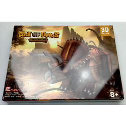 Age Of Dinos 3D Jigsaw Puzzle Triceratops Cubic Fun Dinosaurs BRAND NEW
