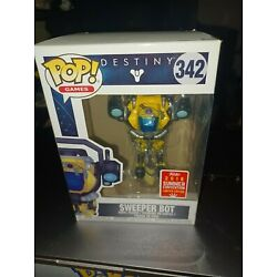 Funko Pop! Games: 2018 Convention Exclusive Destiny Sweeper Bot Figure