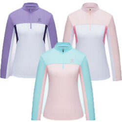 Breathable Shirt Hiking Women Shirts Clothing Uv Stand-up Collar Summer Clothes