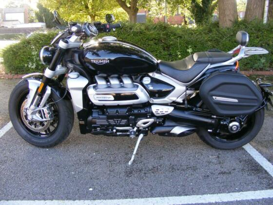 Triumph Rocket 3 R 2020 ONLY 7939 MILES HPI CLEAR, SERVICED, RIDER READY, 2.5L