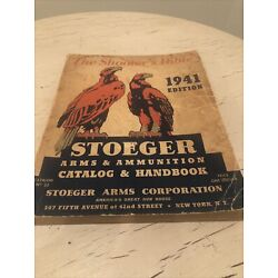 Stoeger Arms & Ammunition Catalog ''The Shooter's Bible'' 1941 No. 33