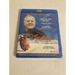 The World s Fastest Indian Blu-Ray Disc Anthony Hopkins 2005 Movie (NEW/SEALED)