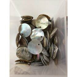 20 ABALONE SHELL DISCS 15MM YOU PICK YOUR COLORS 3 TO CHOOSE FROM!
