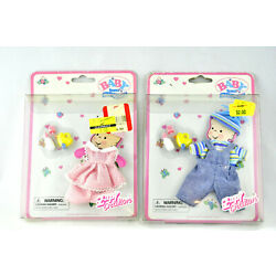 ZAPF CREATIONS~ Baby Born Miniworld ~Doll Clothes/Accessories Lot of 2 Vintage