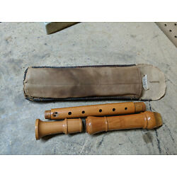 Kung Wood Recorder Woodwind 3 Piece 18''