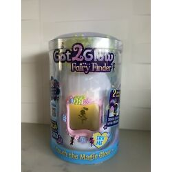WowWee Got2Glow Fairy Finder Electronic Fairy Jar Catches Virtual Fairies Blue