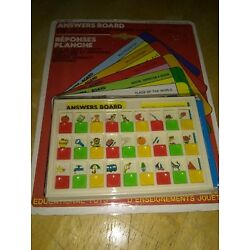 New Answers Learning Boards educational toy SLID SEE ANSWER over 130 questions
