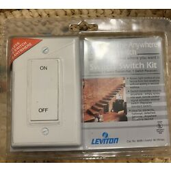 Leviton 6696-I Decora The Anywhere Switch Kit White New Sealed Package Deal