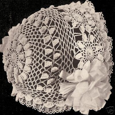 Vintage Antique Crochet Pattern To Make Daisy Sun Flower