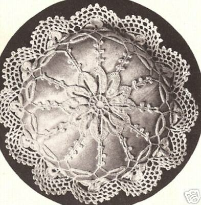 Crochet Patterns Vintage Doilies : Vintage Crochet PATTERN to make Antique Pincushion Mary ...