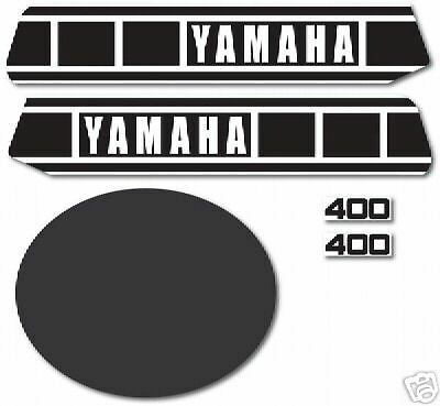 Yamaha 1977 1978 yz400 complete decal grpahic kit ebay for Yamaha replacement decals