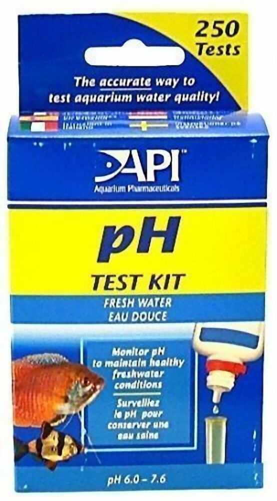 Api ph test kit for fish tank aquarium freshwater marine for How to lower ph in fish tank