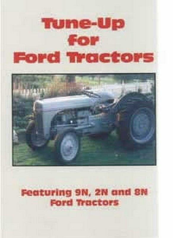 Ford 8n Tune Up Parts : Ford tractors n tractor engine tune up dvd ebay