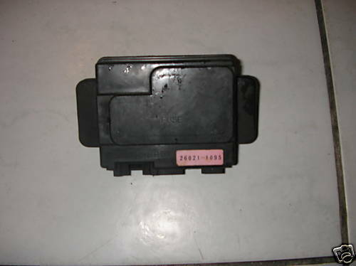 Kawasaki Ninja Zx6r J1 Fuse Junction Box Zx6 R