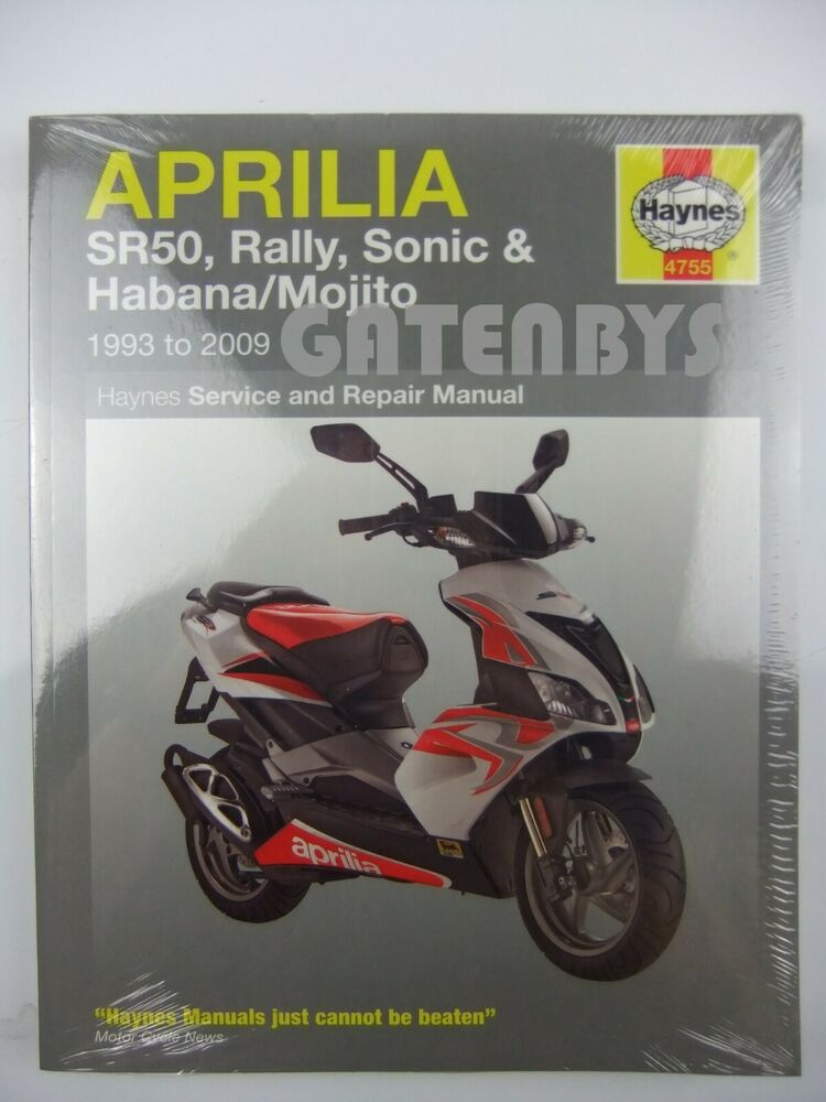 new aprilia haynes manual sonic sr50 sr 50 rally habana. Black Bedroom Furniture Sets. Home Design Ideas