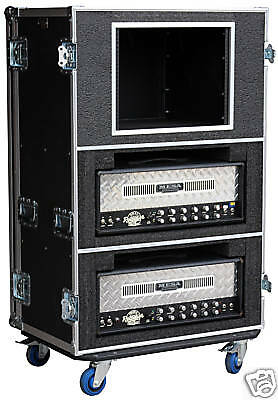 ata case for dual mesa boogie rectifier 6 space rack ebay. Black Bedroom Furniture Sets. Home Design Ideas