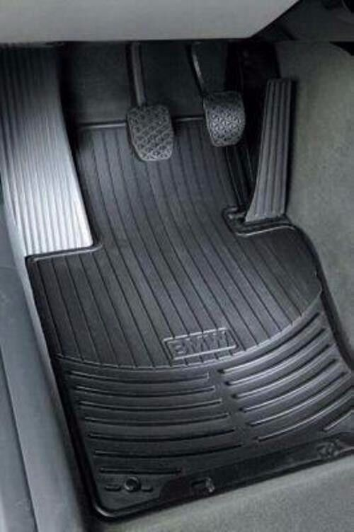 Bmw Car Mats Ebay >> 2 BMW Black Rubber Floor Mats E46 323 325 328 330 1921 | eBay