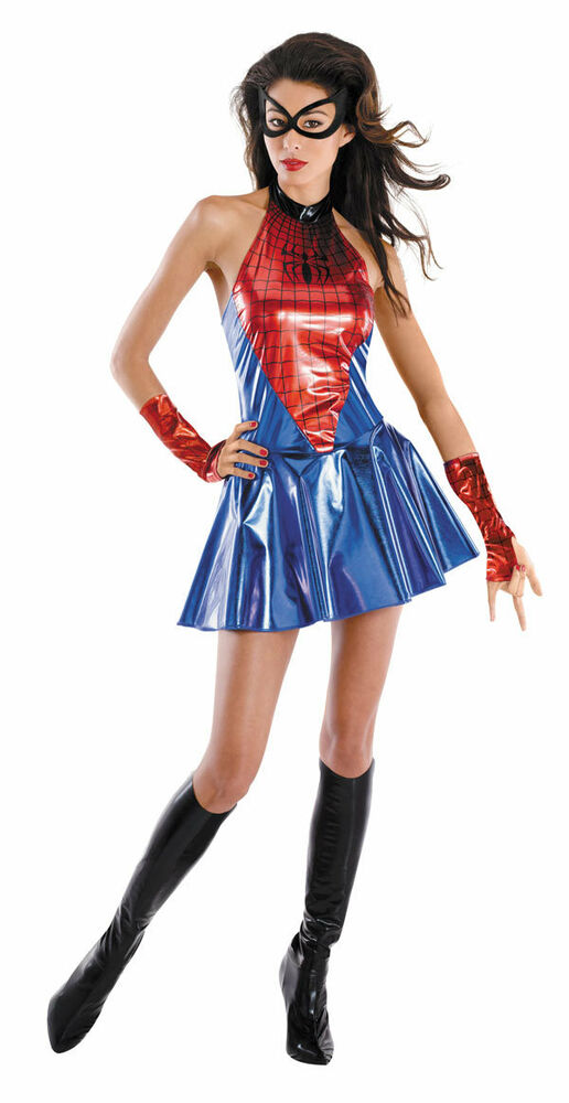 The Amazing Spider-Girl Deluxe Female Adult Costume Marvel Comics Size ...