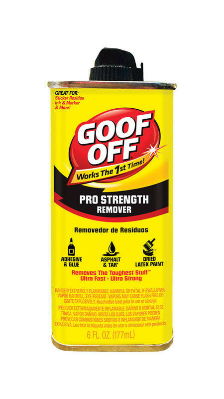 Goof Off Latex Paint Lipstick Tar Grease Remover