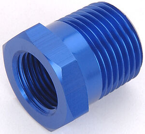 1 2 Quot To 3 8 Quot Pipe Thread Reducer Bushing Blue Pre 65312 Ebay