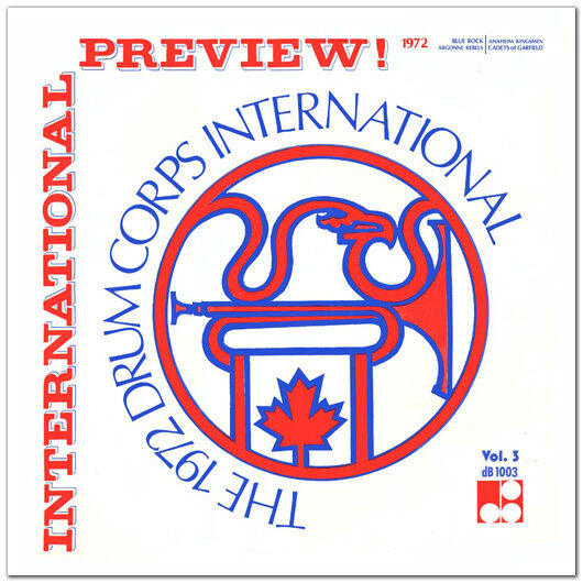 1972 Drum Corps International Preview 3 Drum Corps CD : eBay