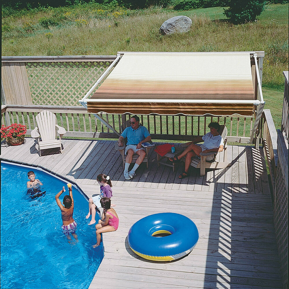 20-FT SunSetter 900XT Retractable Awning Shade Your Deck