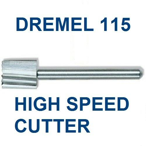 new authentic dremel high speed cutter bit 115 high grade steel ebay. Black Bedroom Furniture Sets. Home Design Ideas