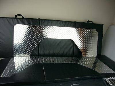 1966 76 early bronco interior qtr panels diamond plate ebay. Black Bedroom Furniture Sets. Home Design Ideas