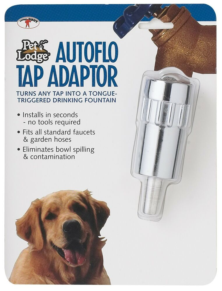 Automatic Faucet AutoFlo Tap Adaptor | Dog Pet Drinking Fountain ...