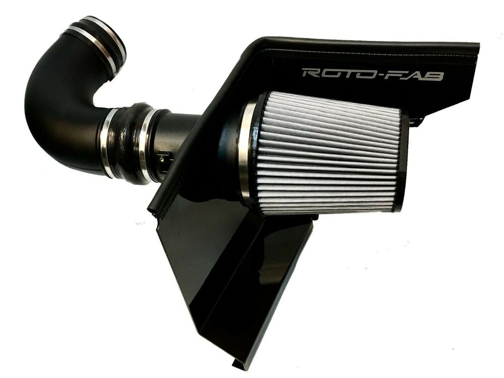 roto fab cai cold air intake system for 2010 2015 camaro v8 ebay. Black Bedroom Furniture Sets. Home Design Ideas