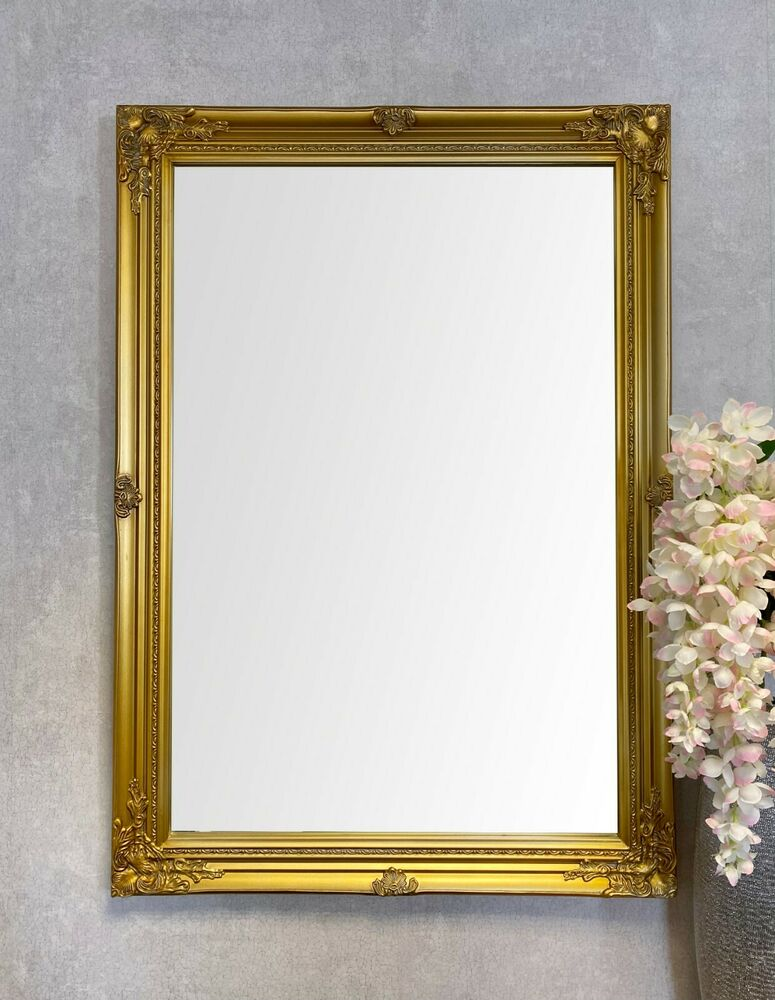 Firebrandcattery Creating Oversized Wall Mirrors: LARGE ANTIQUE STYLE WALL MIRROR
