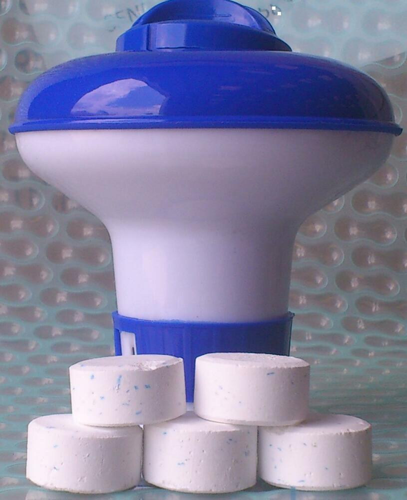 Intex Dispenser With 5 Ultimate Chlorine Tablets 20g Ebay