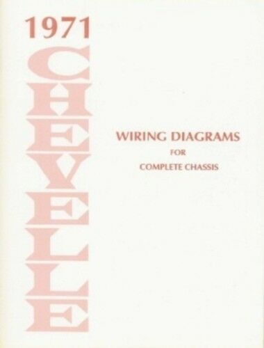 Chevelle 1971 Wiring Diagram 71