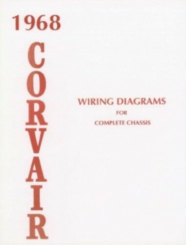 corvair 1968 wiring diagram 68 | ebay 68 corvair wiring diagram